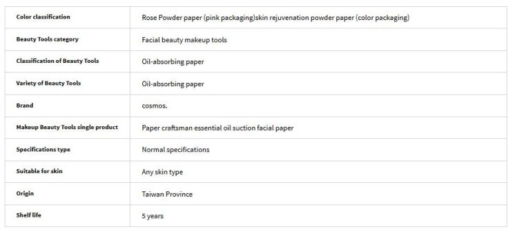 paper powder information
