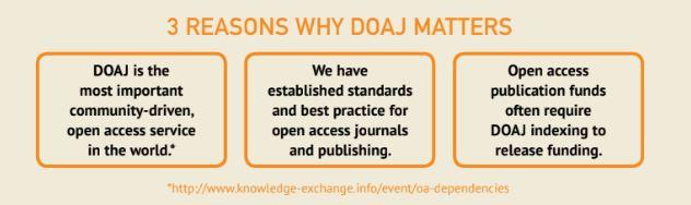 Why DOAJ Matters